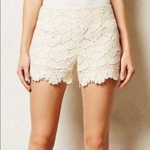 Dolce Vita Crochet Side Zip Shorts